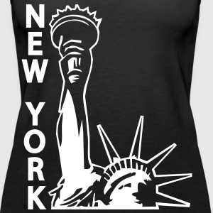 Lady Liberty, New York City, NY, Freiheitsstatue, www.eushirt.com - Women's Premium Tank Top