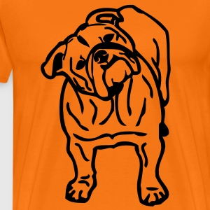 - www.dog-power.nl - CG -  - Premium T-skjorte for menn