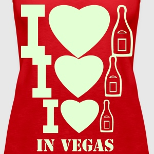 I LOVE CHAMPAGNE IN LAS VEGAS - Women's Premium Tank Top