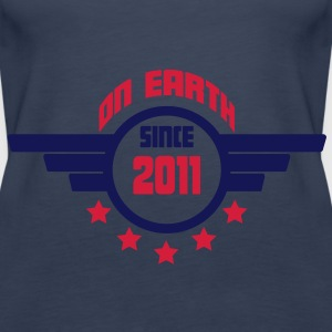2011_on_earth Tops - Vrouwen Premium tank top