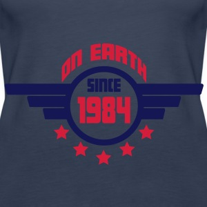 1984_on_earth Toppe - Dame Premium tanktop
