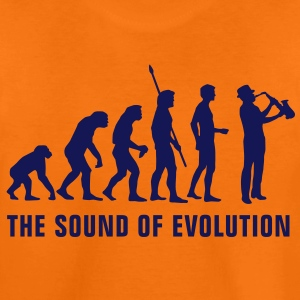 evolution_saxophon_b_1c Shirts - Teenage Premium T-Shirt