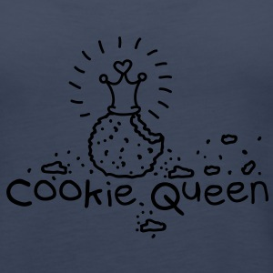Cookie Queen Top - Canotta premium da donna