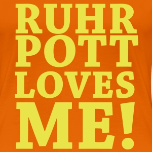 Ruhrpott loves ME! - Girlieshirt - Frauen Premium T-Shirt