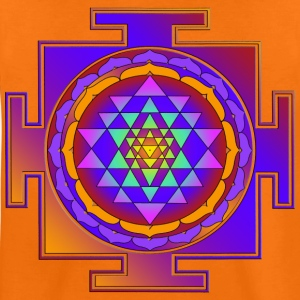 SRI YANTRA - colorful | Kindershirt - Teenager Premium T-Shirt