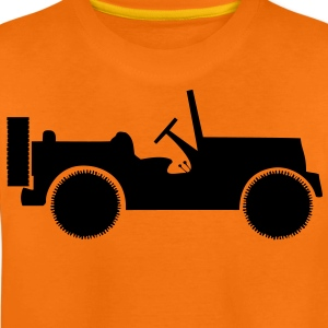 military jeep car Kids' Shirts - Teenage Premium T-Shirt