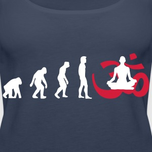 Evolution Yoga Buddhist Meditation Tops - Women's Premium Tank Top