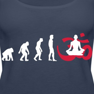 Evolution Yoga Buddhismus Meditation Tops - Frauen Premium Tank Top