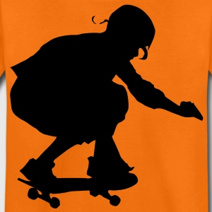 skateboard skate board x games sport skater Kinder T-Shirts - Teenager Premium T-Shirt