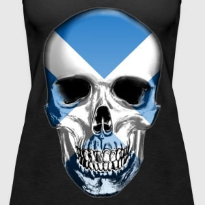 Scotland Skull - Women's Premium Tank Top
