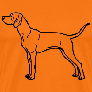 - www.dog-power.nl - CG -  - Herre premium T-shirt
