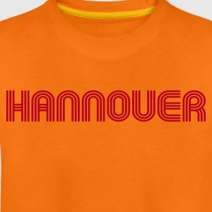 Hannover 70er Schrift Lounge Shirt Kinder T-Shirts - Teenager Premium T-Shirt