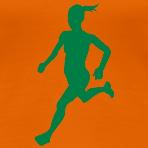Cross country female - Women's Premium T-Shirt