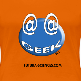 Motif ~ Geek femme orange
