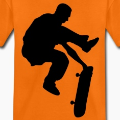 skateboard x games logo sport skate board Kids' Shirts