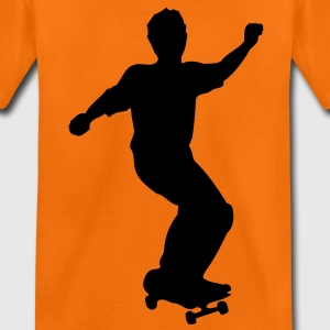 skateboard skate board x games sport skater Kids' Shirts - Teenage Premium T-Shirt