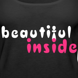 beautiful inside Tops - Frauen Premium Tank Top