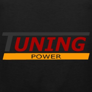 tuning power T-Shirts - Männer Premium Tank Top