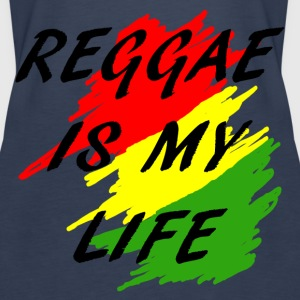 reggae is my life Topper - Premium singlet for kvinner