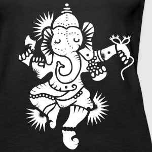 The elephant god Ganesha Tops - Women's Premium Tank Top