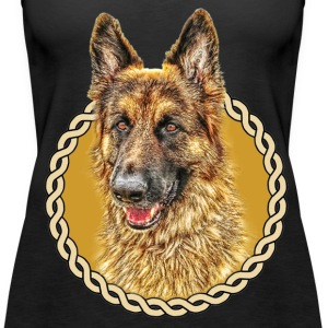 German Shepherd (Alsation) 001 - Women's Premium Tank Top