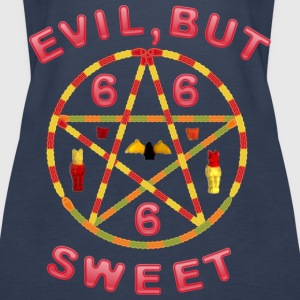 Evil but sweet Tops - Frauen Premium Tank Top