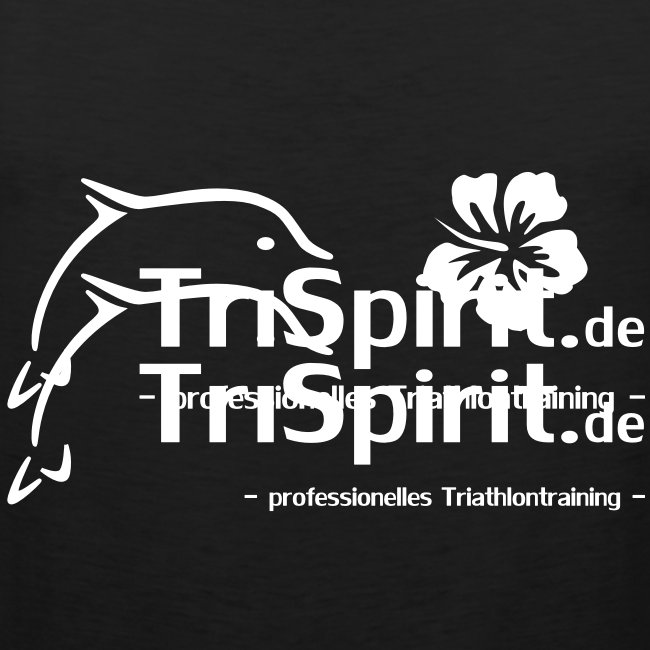Arti Muskelshirt weisses Logo mit Slogan