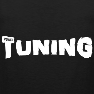tuning power T-shirts - Premiumtanktopp herr