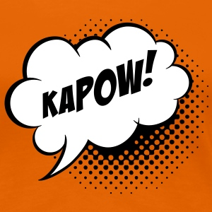 Speech balloon Kapow! T-Shirts - Women's Premium T-Shirt