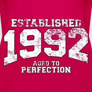 established 1992 - aged to perfection (fr) Débardeurs - Débardeur Premium Femme