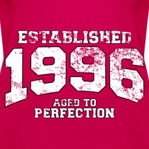 established 1996 - aged to perfection (uk) Tops - Women's Premium Tank Top