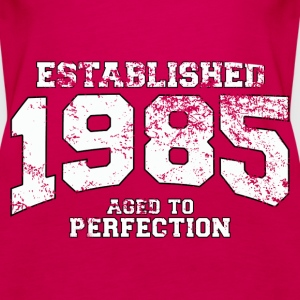 Geburtstag - established 1985 - aged to perfection - Frauen Premium Tank Top