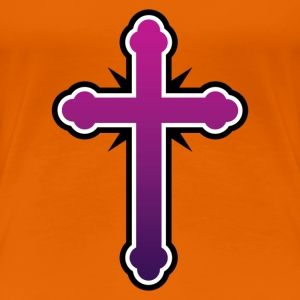 Cross T-shirt - Women's Premium T-Shirt