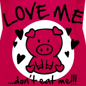 Love me, don't eat me Tops - Women's Premium Tank Top