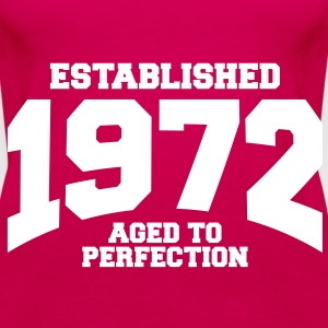 aged to perfection established 1972 (sv) Toppar - Premiumtanktopp dam
