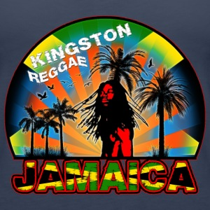 kingston reggae jamaica Top - Canotta premium da donna