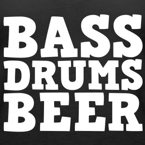 Bass Drums and Beer Top - Canotta premium da donna