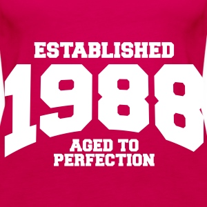 aged to perfection established 1988 (uk) Tops - Women's Premium Tank Top