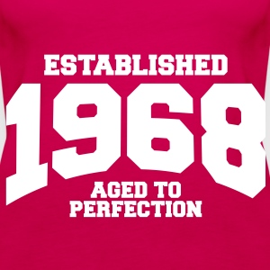aged to perfection established 1968 (sv) Toppar - Premiumtanktopp dam