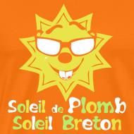 Motif ~ Tee shirt homme soleil de plomb soleil breton
