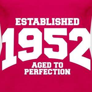 aged to perfection established 1952 (sv) Toppar - Premiumtanktopp dam
