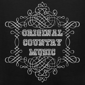 original country music T-shirt - Canotta premium da uomo