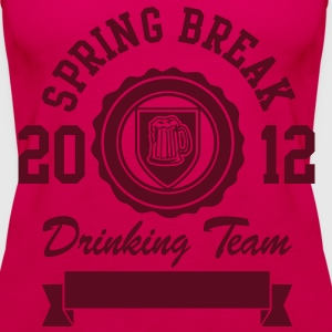Spring Break Drinking Team 2012 Tops - Frauen Premium Tank Top