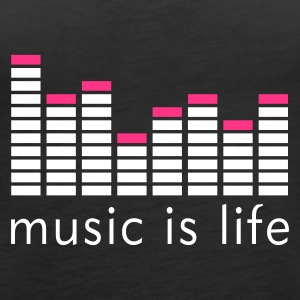 Music is life Equalizer / Music is life equaliser Débardeurs - Débardeur Premium Femme
