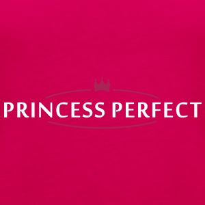 princess perfect (2c) Tops - Women's Premium Tank Top