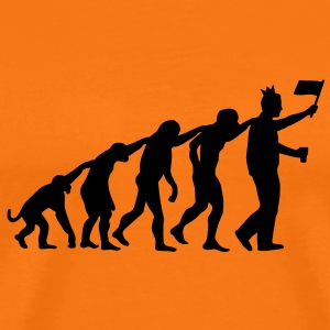 Evolutie koninginnedag - Queensday, Beatrix, Koningin T-shirts - Mannen Premium T-shirt