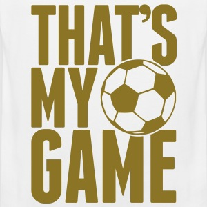 that's my game - soccer T-Shirts - Männer Premium Tank Top