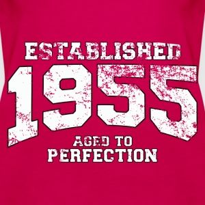 established 1955 - aged to perfection (uk) Tops - Women's Premium Tank Top