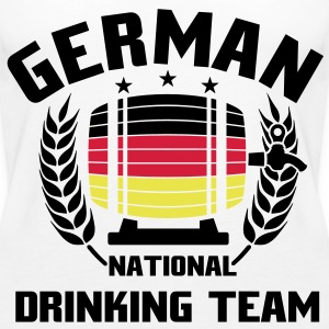 NATIONAL DRINKINGTEAM GERMANY Tops - Frauen Premium Tank Top