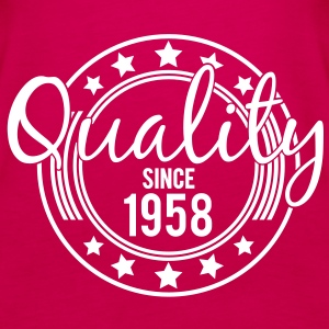 Birthday - Quality since 1958 (nl) Tops - Vrouwen Premium tank top
